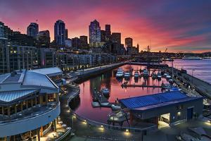 Winter's Morning Palette Seattle by Stephen Kacirek
