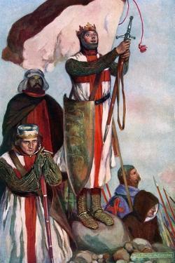 Crusaders Sighting Jerusalem, 1909 by Stephen Reid