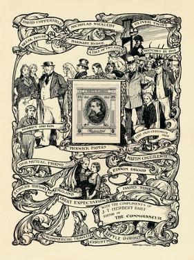 'Dickens Centenary Stamp', 1912 by Stephen Reid