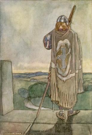 Finn Hears the Fairy Harp