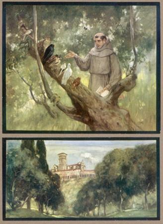 Francesco and Birds