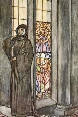 She heard her own name called again and again', c1910 by Stephen Reid