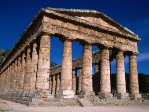 Ancient Doric Temple, Segesta, Sicily, Italy by Stephen Saks