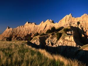 Badlands Loop Road and Rock Hills, Badlands National Park, South Dakota, USA by Stephen Saks