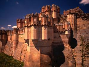 Castillo De Coca, Segovia, Castilla-Y Leon, Spain by Stephen Saks