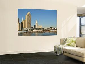 Downtown Skyline with Ferry Building Clocktower by Stephen Saks