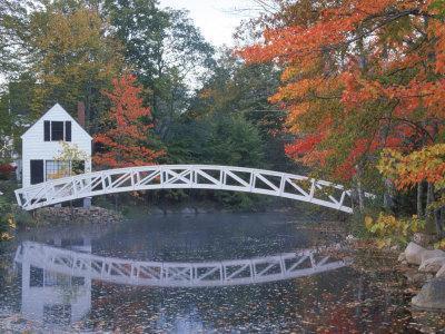 Foot Bridge, Mount Desert Island, Maine
