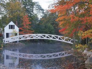 Foot Bridge, Mount Desert Island, Maine by Stephen Saks