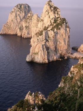 Island of Capri, Faraglioni, Italy by Stephen Saks