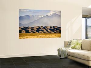 Landscape of Great Sand Dunes National Park and Preserve by Stephen Saks