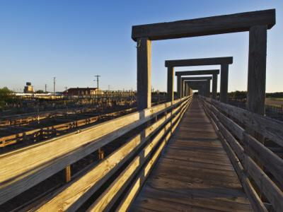 Old Previously-Used Cattle Pens at Stockyards National Historic District