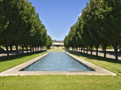 Pond at Main Entrance to Fort Worth Botanic Garden