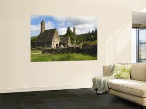Saint Kevin's Church at Monastic Site by Stephen Saks