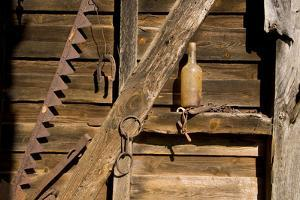 Artifacts on the Walls Reflect the Life of an Old Barn by Stephen St. John