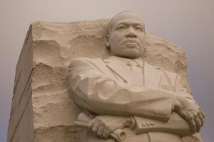 Close Up of the Dramatic National Memorial to Dr. Martin Luther King by Stephen St. John