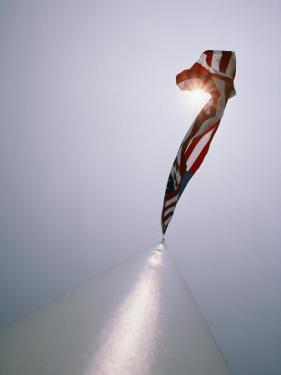 View Looking Directly up a Flagpole by Stephen St. John