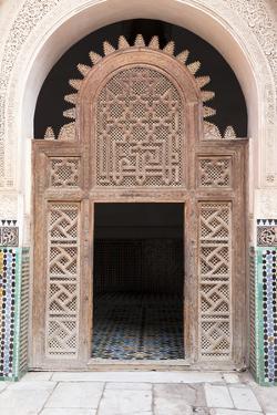 Medersa Ali Ben Youssef (Madrasa Bin Yousuf), Medina, Marrakesh, Morocco by Stephen Studd