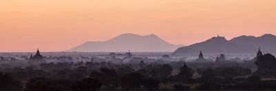 Panoramic View at Sunrise of Temples by Stephen Studd