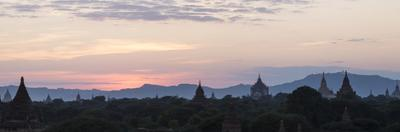 Panoramic View Towards Old Bagan Temples by Stephen Studd