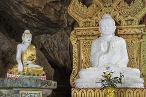 The Buddhist Pilgrimage Site of Peik Chin Myaung Cave (Maha Nan Damu Sacred Buddha Cave) by Stephen Studd