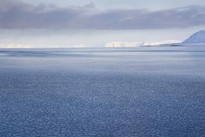 View from Longyearbyen to Adventfjorden Fjord by Stephen Studd