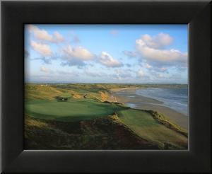 Ballybunion Golf Club Old Course, Holes 4 and 10 by Stephen Szurlej