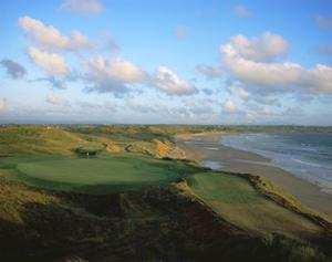 Ballybunion Golf Club Old Course, Holes 4 and 10 by Stephen Szurlej