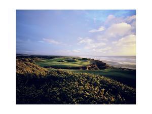 Bandon Dunes Golf Course, Hole 16 by Stephen Szurlej