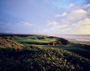 Bandon Dunes Golf Course, Hole 16 by Stephen Szurlej