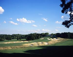 Bethpage State Park Black Course. December 2001 by Stephen Szurlej