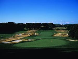 Bethpage State Park Black Course, Hole 18 by Stephen Szurlej