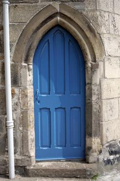 Blue Door, St. Andrews by Stephen Szurlej