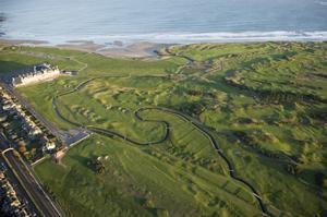 Carnoustie Golf Links, the infamous Barry burn by Stephen Szurlej