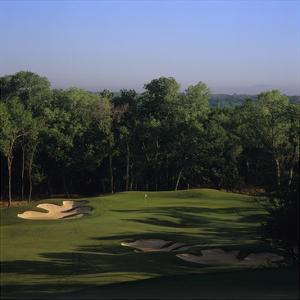 Cowboys Golf Club, Hole 4 by Stephen Szurlej