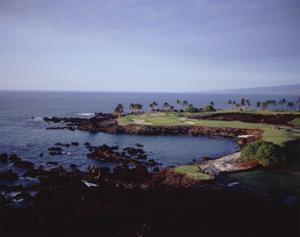 Mauna Lani Resort South Course, Hole 15 by Stephen Szurlej