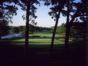 Olympia Fields Country Club North Course, Hole 9 by Stephen Szurlej