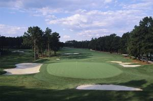 Pinehurst Golf Course No. 2, Hole 16 by Stephen Szurlej