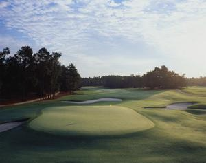 Pinehurst Golf Course No. 2, Hole 18 by Stephen Szurlej