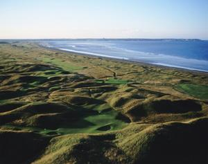 Royal St. George's Golf Club, aerial by Stephen Szurlej