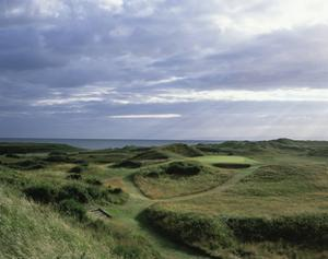 Royal Troon Golf Club, Hole 8 by Stephen Szurlej