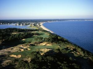 Sebonack Golf Club, Hole 17 by Stephen Szurlej
