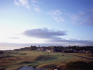 St. Andrews Golf Club Old Course, aerial by Stephen Szurlej