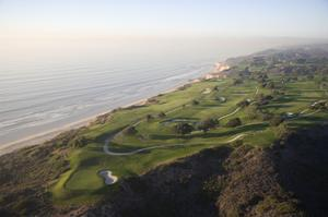 Torrey Pines Municipal G.Cse., Hole 3 by Stephen Szurlej