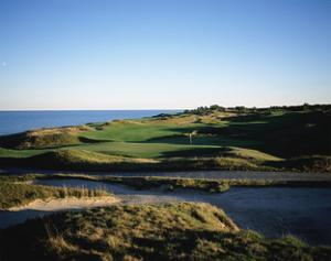 Whistling Straits Golf Club, Hole 11 by Stephen Szurlej