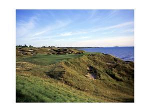 Whistling Straits Golf Club, Hole 12 by Stephen Szurlej