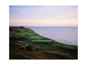 Whistling Straits Golf Club, sunset by Stephen Szurlej