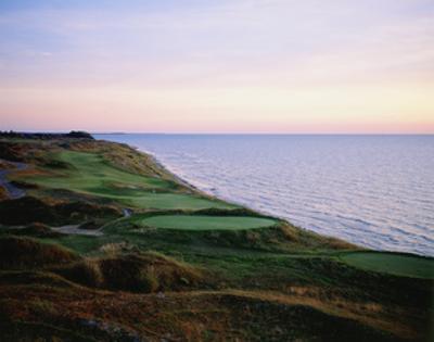 Whistling Straits Golf Club, sunset