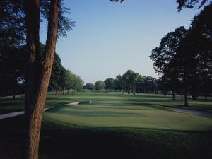 Winged Foot Golf Course West Course, Hole 3 by Stephen Szurlej