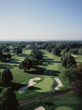 Winged Foot Golf Course by Stephen Szurlej