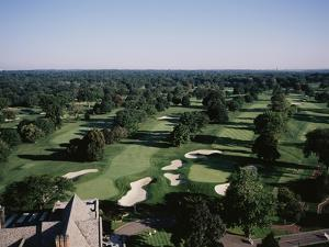 Winged Foot Golf Course by Stephen Szurlej